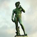 Michelangelo's David 2 by Ellen Henneke