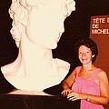 Michelangelos Statue Of David by Carole Spandau