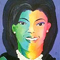 Michelle Obama Color Effect by Kendya Battle