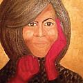 Michelle Obama by Ginnie McKnight