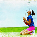 Michelle Wie Of The United States Reacts After Missed Off To A B by Don Kuing