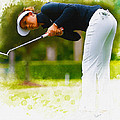 Michelle Wie  Putt On The Tenth Green by Don Kuing