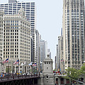 Michigan Ave Dusable Bridge by Thomas Woolworth