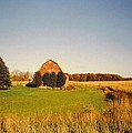 Michigan Barn And Landscape by Robert Floyd