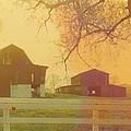 Michigan Barns by Robert Floyd