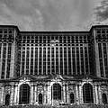 Michigan Central Station Bw by Jonathan Davison