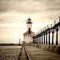 Michigan City Lighthouse by Timothy Johnson