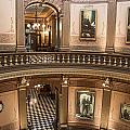 Michigan State Capitol 2 Floors Color by John McGraw