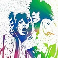 Mick Jagger And Keith Richards by Dan Sproul