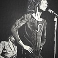 Mick Jagger by Charles Rogers