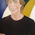Mick Jagger by Frixos Philippou