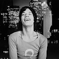 Mick Jagger Laughing by Cecil Beaton