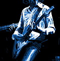 Mick Plays The Blues In Spokane 1977 by Ben Upham