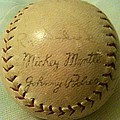 Mickey Mantle Baseball Autograph by Lois Ivancin Tavaf