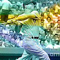 Mickey Mantle by Marvin Blaine