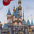 Mickey Mouse Balloon At Disneyland by Thomas Woolworth