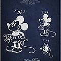 Mickey Mouse Patent Drawing From 1930 by Aged Pixel