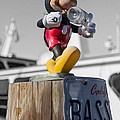 Mickey On A Post by Scott Campbell