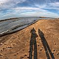 Mid Dec Day At The Beach...who Can Argue At Presque Isle State Park Series by Michael Frank Jr