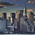 Mid Manhattan In Hdr by David Resnikoff