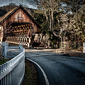 Middle Bridge - Woodstock Vermont by Expressive Landscapes Fine Art Photography by Thom