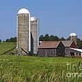 Middlebury Vermont Barn by Deborah Benoit