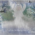 Midnight Angel Of Peace by Sherri  Of Palm Springs