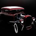 Midnight Hot Rod Red by Steve McKinzie