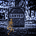 Midnight In The Graveyard With A Lawyer by Thomas Woolworth