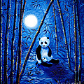 Midnight Lullaby In A Bamboo Forest by Laura Iverson
