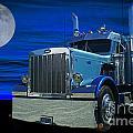 Midnight Peterbilt by Randy Harris