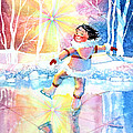 Midnight Sun Skating Fun by Hanne Lore Koehler