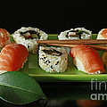 Midnight Sushi Indulgence by Inspired Nature Photography Fine Art Photography