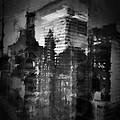 Midtown Black And White by H James Hoff