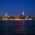 Midtown Manhattan Skyline View by Bill Cannon