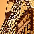Midway Cafe Sepia by Chanel Fernandez