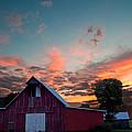 Midwest Barn  by Randall Branham
