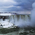 Mighty Cold Niagara by Barbara McMahon