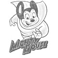 Mighty Mouse - Mighty Sketch by Brand A