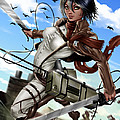 Mikasa Ackerman by Pete Tapang