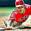 Mike Trout Painting by Florian Rodarte