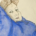 Mikki In Blue by Catherine Ratliff