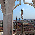 Milan Cathedral Rooftop View by Susan Rovira
