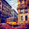 Milan Tram by Chris Butler