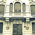 Milan Vintage Building by Valentino Visentini