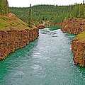 Miles Canyon In Whitehorse-yt by Ruth Hager