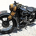 Military Style Bmw Motorcycle by Dave Mills