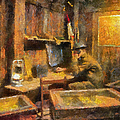 Military Ww I Command Post Photo Art 02 by Thomas Woolworth