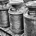 Milk Cans by Karol Livote