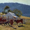 Milking Time. Araluen Valley by Elioth Gruner